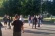 Вулицю Володимира Великого у Львові перекрили пікетувальники (Фото)