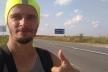 Підприємець з Івано-Франківська за чотири дні пішки дійшов до Львова