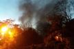 Пожежа у Львові. Горить закинуте будівництво