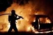 Пожежа у Моршині: автомобіль згорів разом з гаражем