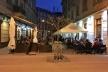 Пішохідну вулицю Курбаса в центрі Львова перетворили у суцільний ресторан