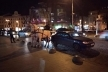 У центрі Львова п'яний фірман протаранив Lanos