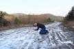 На Львівщині священик оригінально заспівав про аварійність доріг у селах (Відео)