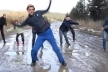 «Плакали всі»: на Львівщині діти зняли кліп про жахливий стан доріг (Відео)