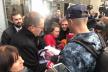 У Львові зустріли звільненого з полону моряка Андрія Оприска