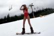 Перша українка, яка підкорила Еверест, з'явилася на відкритті лижного сезону у Буковелі (Фото, відео)