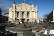 Демонтований фонтан біля оперного театру передано в «Стрийський парк»