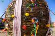На Львівщині встановили шестиметрове Великоднє яйце з лози (Фото)