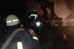 Біля Дрогобича згорів Mercedes-Benz Sprinter (Фото)