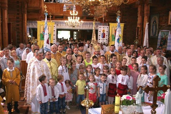 Свято Петра, Павла і Андрея Шептицького в Гребенові на Сколівщині