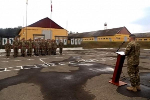Латвійські фахівці розпочали новий цикл підготовки українських військових на Львівщині