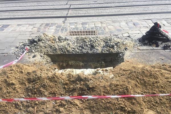 Як у центрі Львова знищили велодоріжку