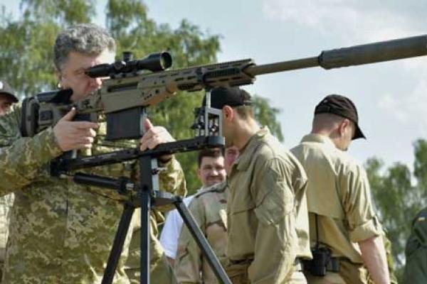 Порошенко сам купує зброю й передає її армії