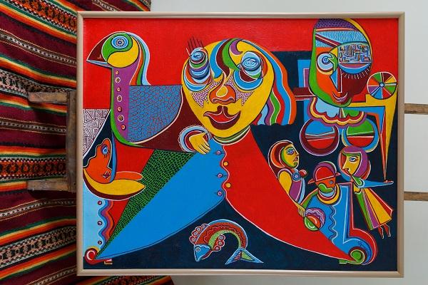 Львівський художник Тарас Григорук презентує свою виставку у Дніпрі