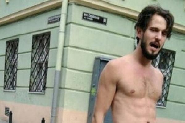 В центрі Львова затримали п'яного польського туриста без штанів