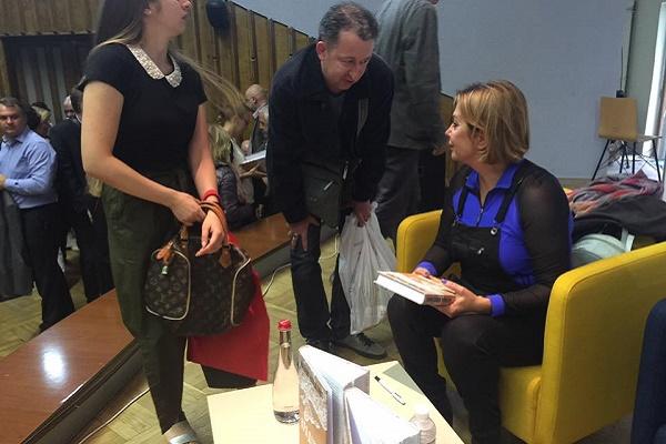 Наташа Влащенко представила у Львові книгу, що проливає світло на анексію Криму