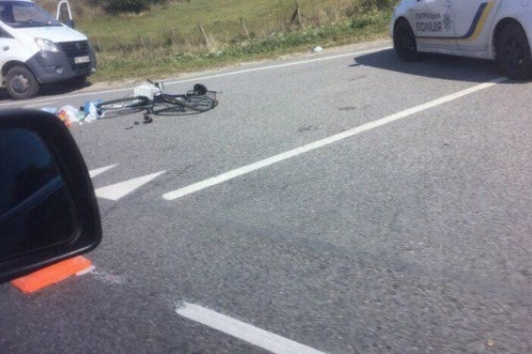 У ДТП на Львівщині згинув велосипедист
