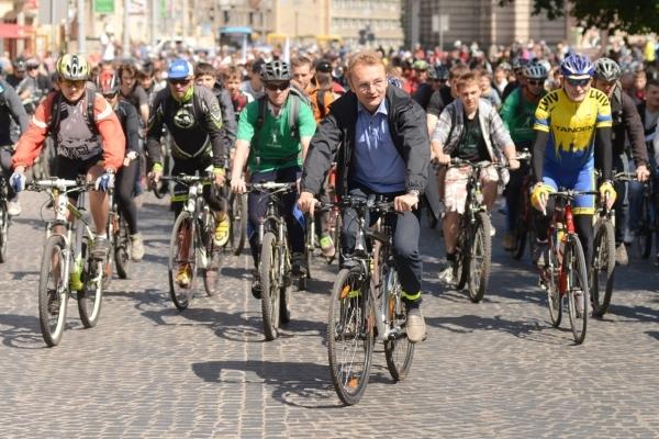 Всеукраїнський велофестиваль стартує сьогодні у Львові