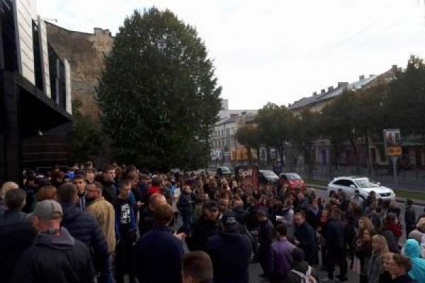Концерт Бабкіна у Львові скасували після блокування клубу