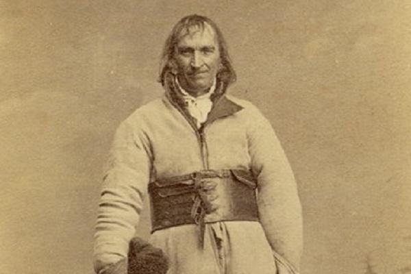 На найстарішій фото Польщі мешканець Самбора