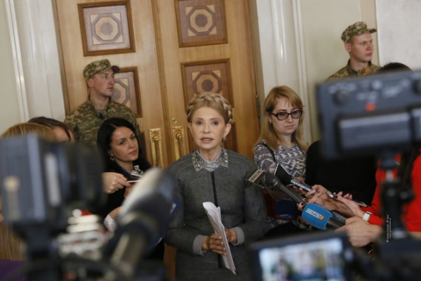 Юлія Тимошенко: «Батьківщина» підтримує вимоги людей і вже давно подала відповідні законопроекти