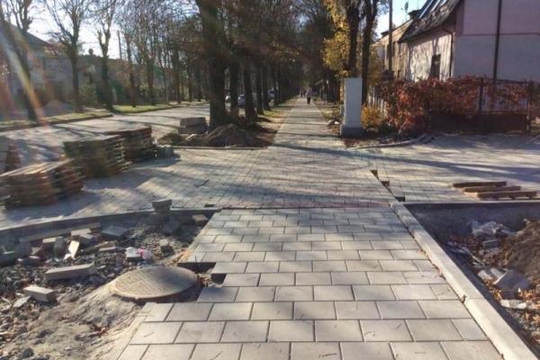 3,3 млн грн потратили на ремонт вулиці Озерної у Львові