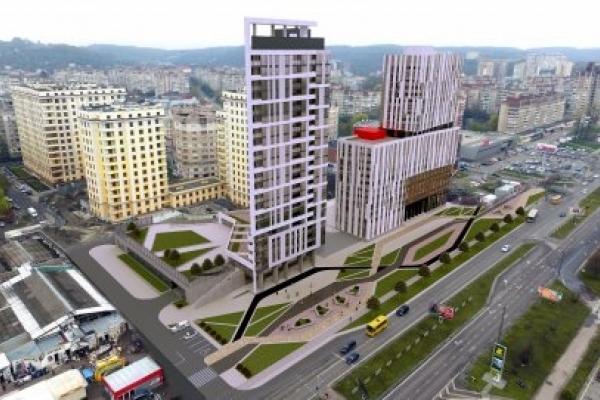 У Львові погодили спорудження рекордної багатоповерхівки