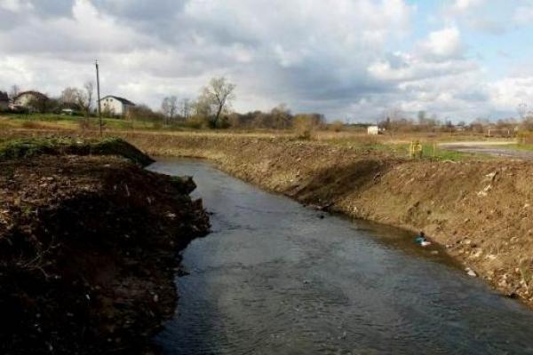 На Львівщині почистили русло річки Солониця