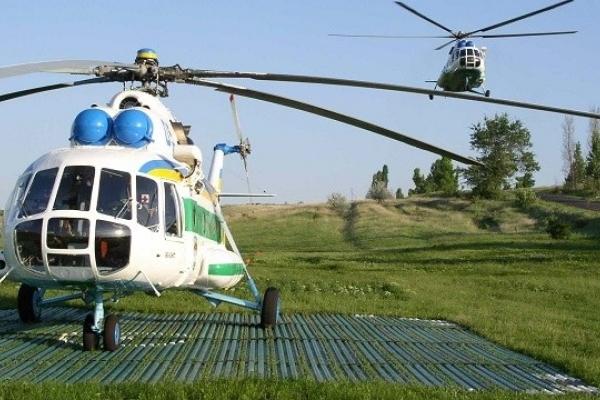 Державна прикордонна служба отримає вертолітний майданчик: землю вже надали