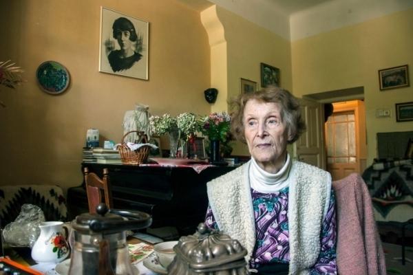 На 90 році життя померла відома львів'янка Лариса Крушельницька