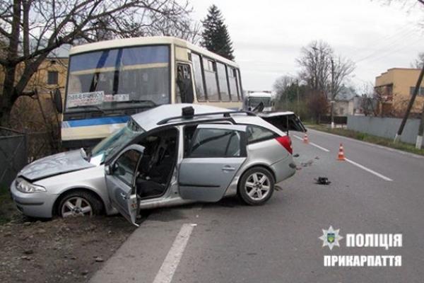 Внаслідок зіткнення з автобусом загинув львів'янин