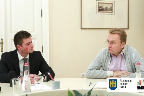 Новий студентський мер Львова сьогодні став позаштатним радником міського голови