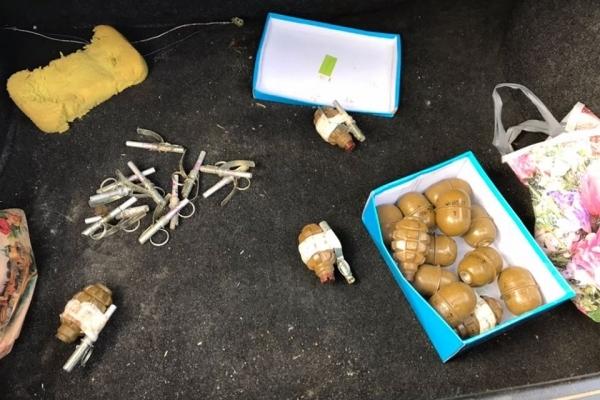 На Львівщині СБУ затримала торгівця гранатами