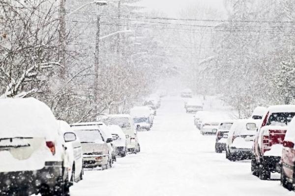 У Львівській області обмежили рух великовантажного автотранспорту в зв'язку зі снігопадами