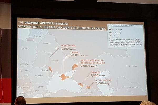 СБУ відкрила кримінальну справу через презентацію у Львові мапи України з «ЛНР» та «ДНР»