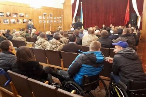 У Львові нагородили поранених бійців АТО та волонтерів
