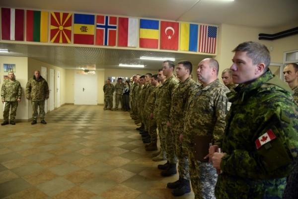 На Львівщині відбулося показове моделювання бойових дій