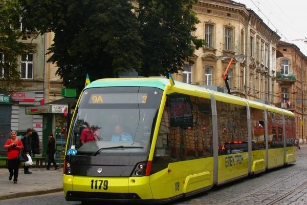 Графіки руху трамваїв Львова у період Різдва