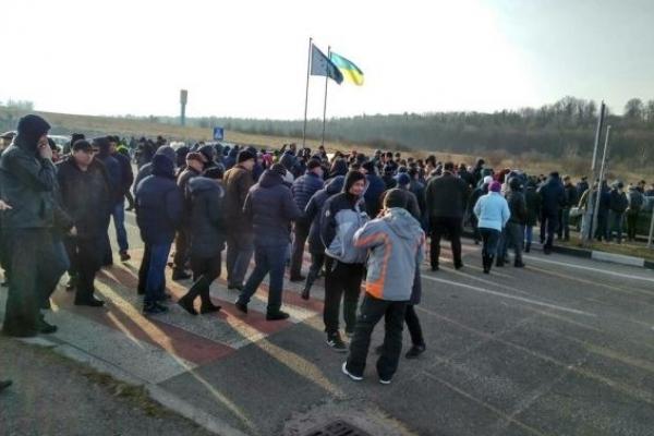Протестувальники пригрозили знову заблокувати пункти пропуску на Львівщині