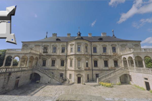 На Львівщині створили віртуальний тур Підгорецьким замком