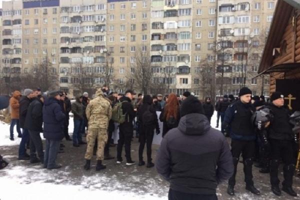 В УПЦ (МП) прокоментували протестну акцію активістів біля храму князя Володимира у Львові