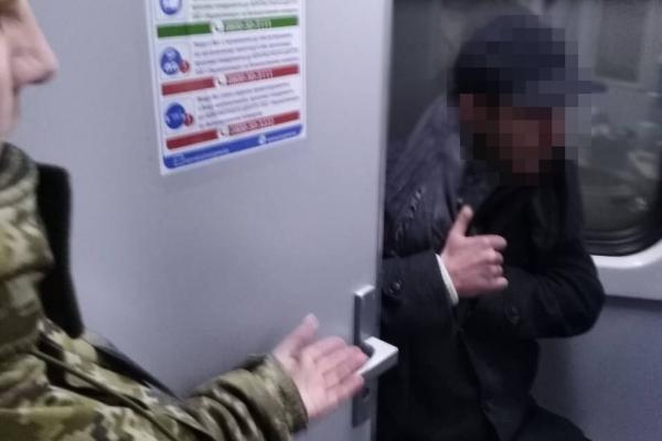 Житель Львівщини намагався доїхали до Вроцлава без документів у туалеті потяга