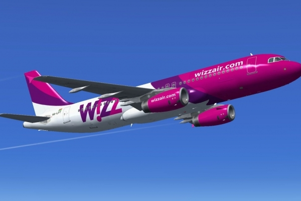 Wizz Air проводить розпродаж квитків зі знижкою 30% на рейси зі Львова