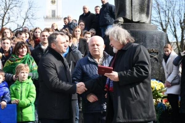 Видатним мешканцям Львівщини вручили державні нагороди
