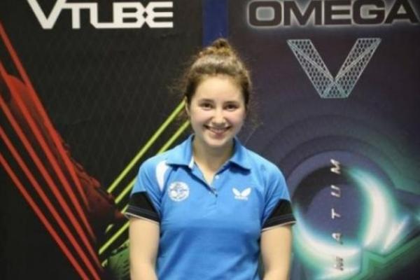 Львів'янка виграла молодіжний чемпіонат Європи з настільного тенісу