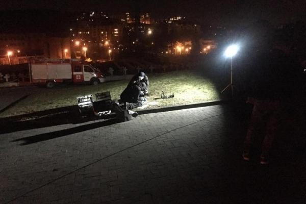 У Львові невідомі кинули вибухівку біля польського Меморіалу орлят