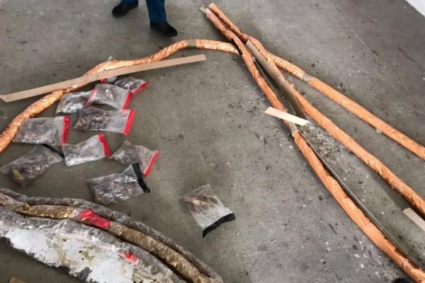 Львів'янин намагався вивезти в Польщу понад 100 кілограмів бурштину (Фото)