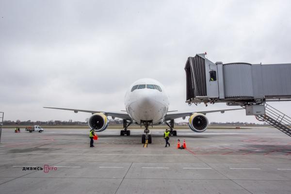 Пасажиропотік аеропорту «Львів» у березні зріс на 50%
