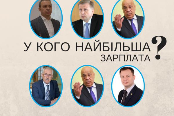 Стало відомо, хто з голів ОДА Західної України заробляє найбільше