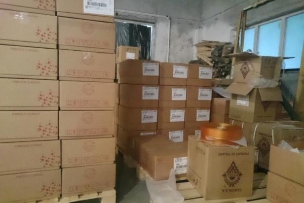 У Львові виявили склад з нелегальними ковбасними оболонками іноземного виробництва